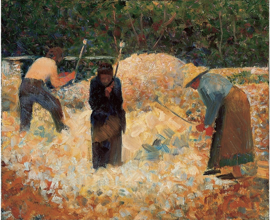 The Stone Breakers, Le Raincy 1882