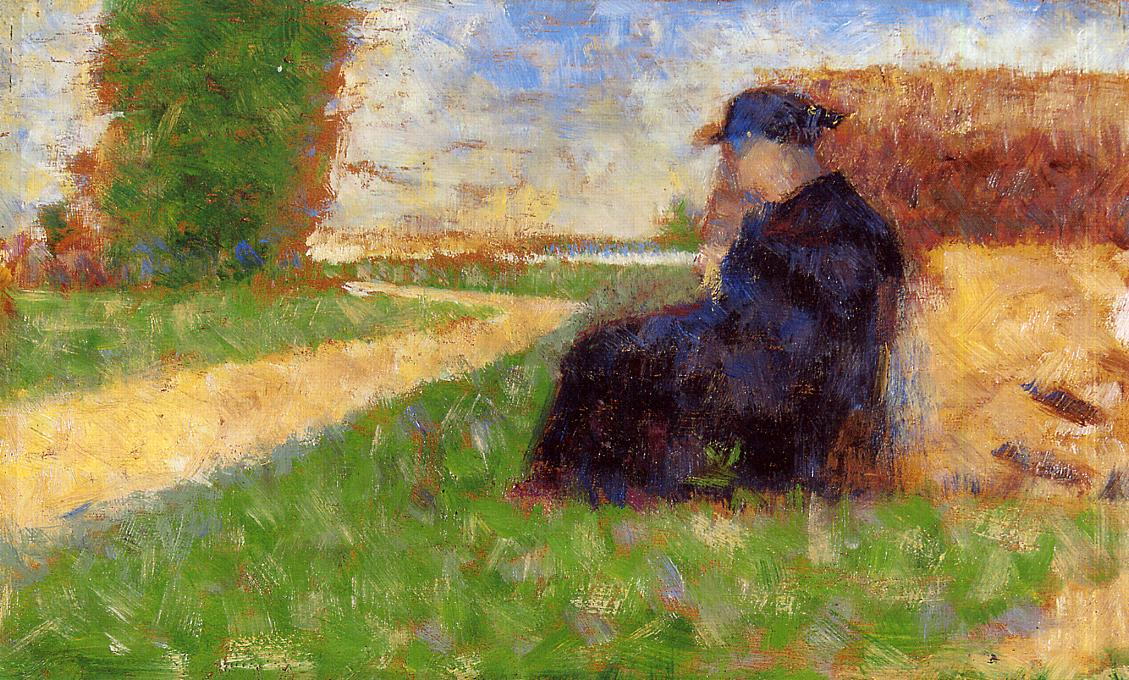 Large Figure in a Landscape 1882-1883