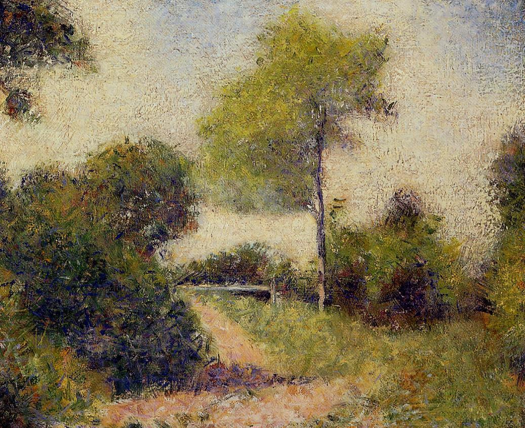 The Hedge. The Clearing 1882