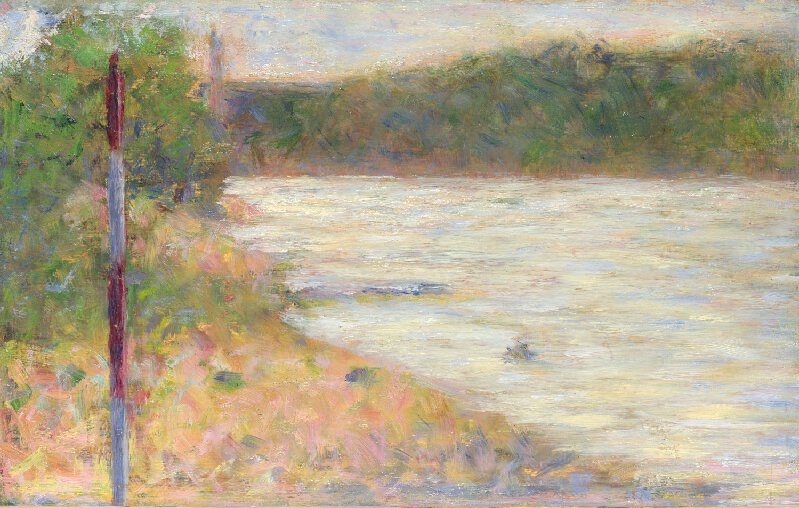 A River Bank. The Seine at Asnieres 1883