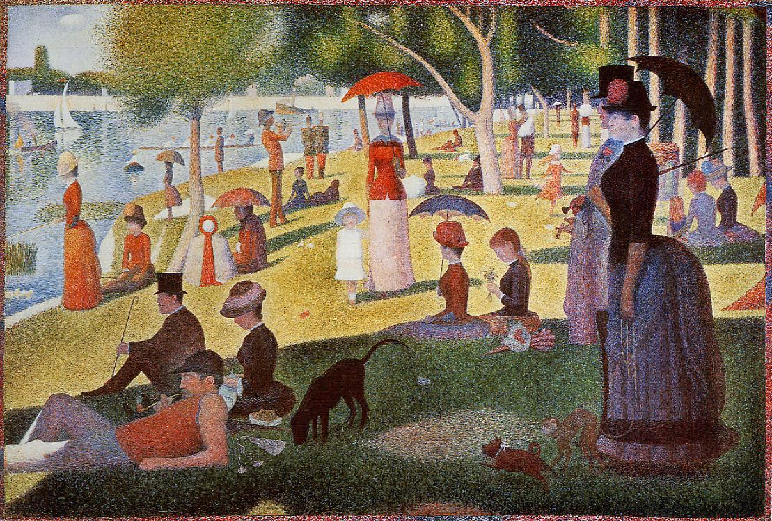 Sunday Afternoon on the Island of La Grande Jatte 1886