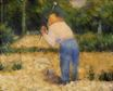 Georges Seurat most famous paintings. The Stone Breaker 1881-1882