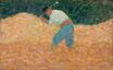 Georges Seurat most famous paintings. The Stone Breaker 1882