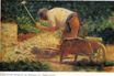 Stone Breaker and Wheelbarrow, Le Raincy 1882-1883