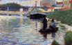 The Bridge. View of the Seine 1882-1883