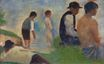 Study for 'Bathers at Asnières' 1883-1884