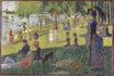 Georges Seurat most famous paintings. Study for A Sunday on La Grande Jatte 1884