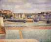 Port-en-Bessin, The Outer Harbor, Low Tide 1888