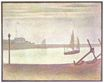 The Channel at Gravelines, Evening 1890