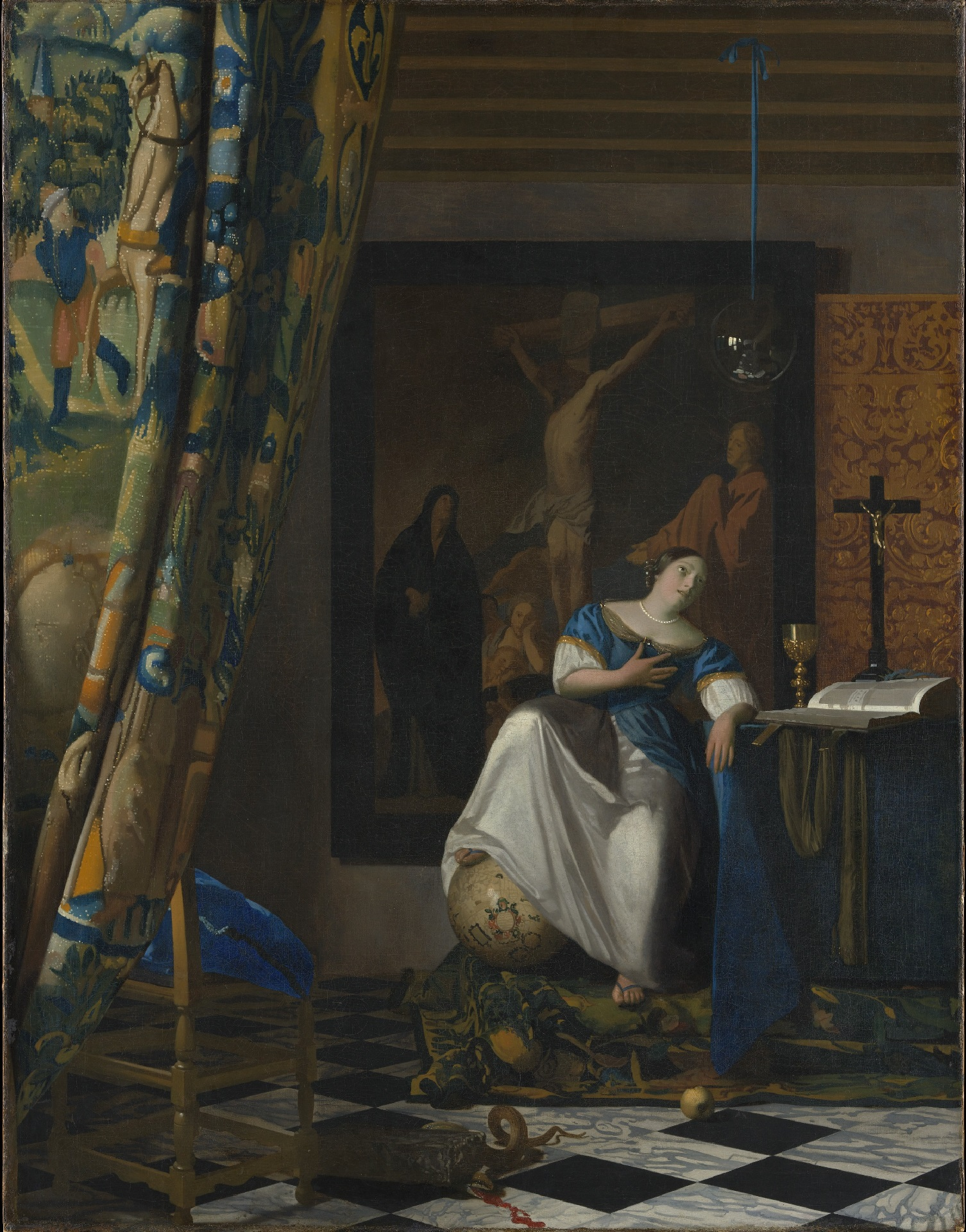 Johannes Vermeer - Allegory on Faith 1671-1674