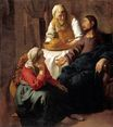Johannes Vermeer - Christ in the House of Martha and Mary 1654