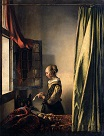 Johannes Vermeer - Girl Reading a Letter at an Open Window 1657