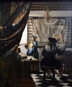 Johannes Vermeer - The Art of Painting 1666-1668