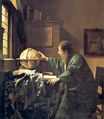 Johannes Vermeer - The astronomer 1668