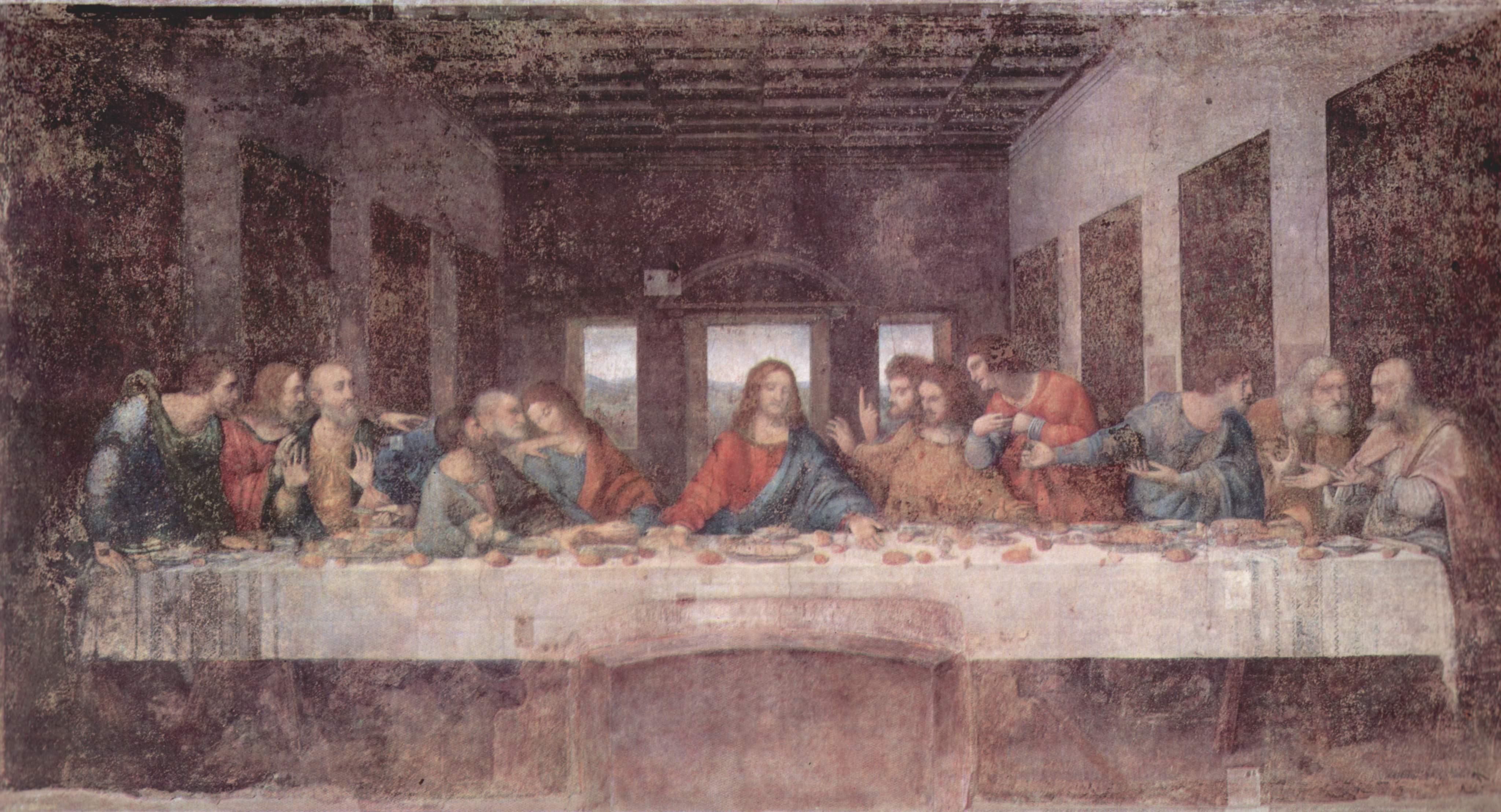 Leonardo da Vinci - The Last Supper 1495