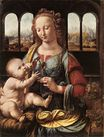Leonardo da Vinci - The Madonna of the Carnation 1473-1478