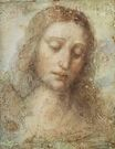 Leonardo da Vinci - Head of Christ 1495