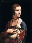 Leonardo da Vinci - The Lady with an Ermine, Cecilia Gallerani 1496