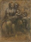 Leonardo da Vinci - The Virgin and Child with Saint Anne and Saint John the Baptist 1499