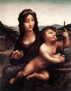 Leonardo da Vinci - Madonna with the Yarnwinder 1501-1507