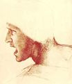Leonardo da Vinci - Study of a Figure for the Battle of Anghiari 1504
