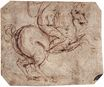 Leonardo da Vinci - Study of a ride 1504