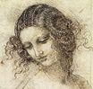 Leonardo da Vinci - Study for the Head of Leda 1506