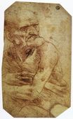 Leonardo da Vinci - Study of an Old Man