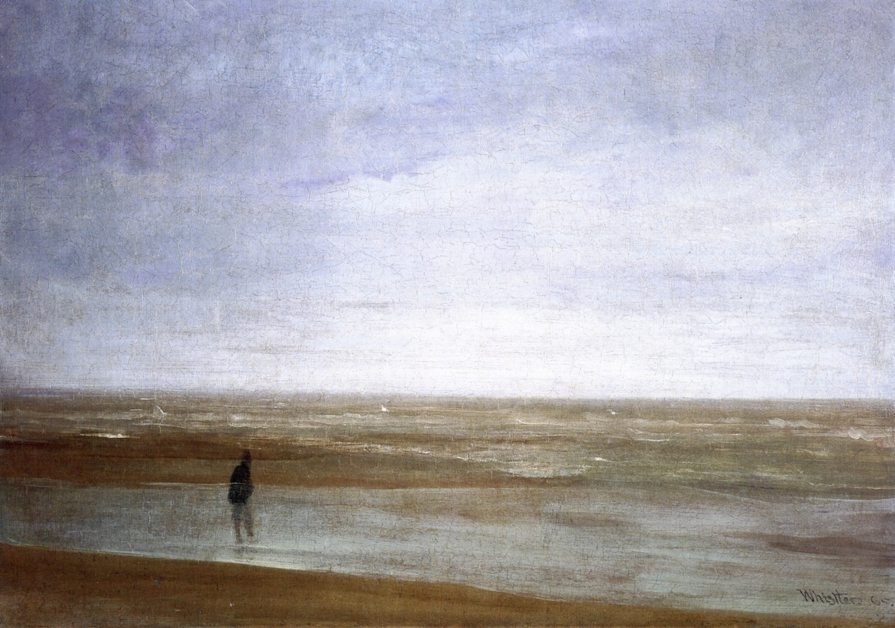 Sea and Rain. Variations in Violet and Green 1865