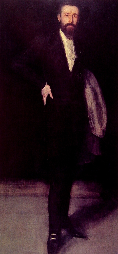 Arrangement in Black. Portrait of F.R. Leyland