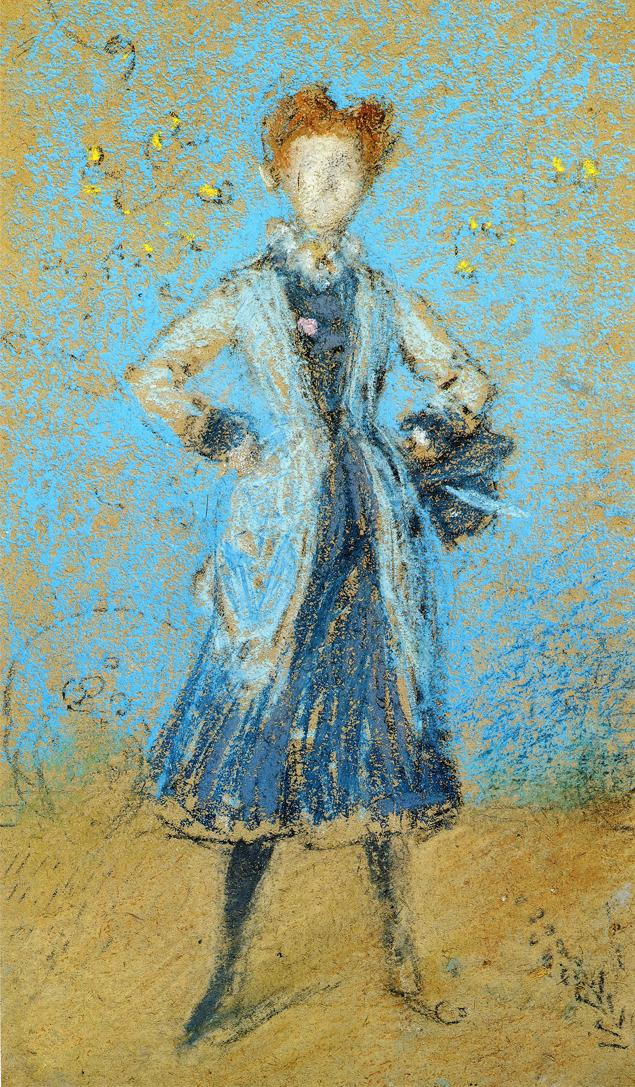 The Blue Girl 1874