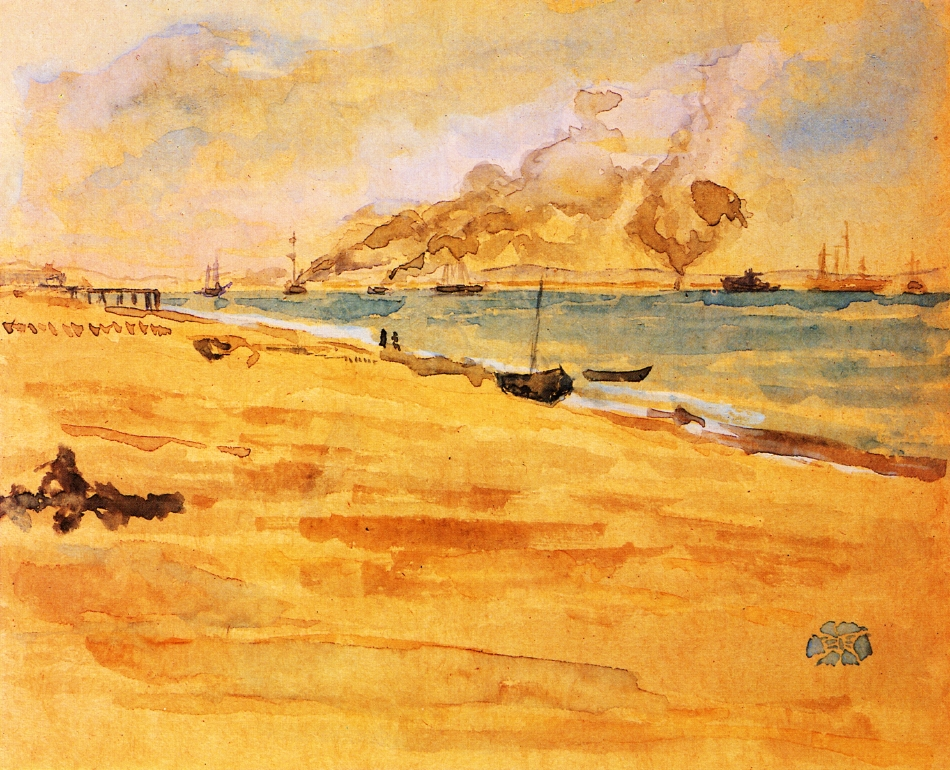 Study for Mouth of the River 1877