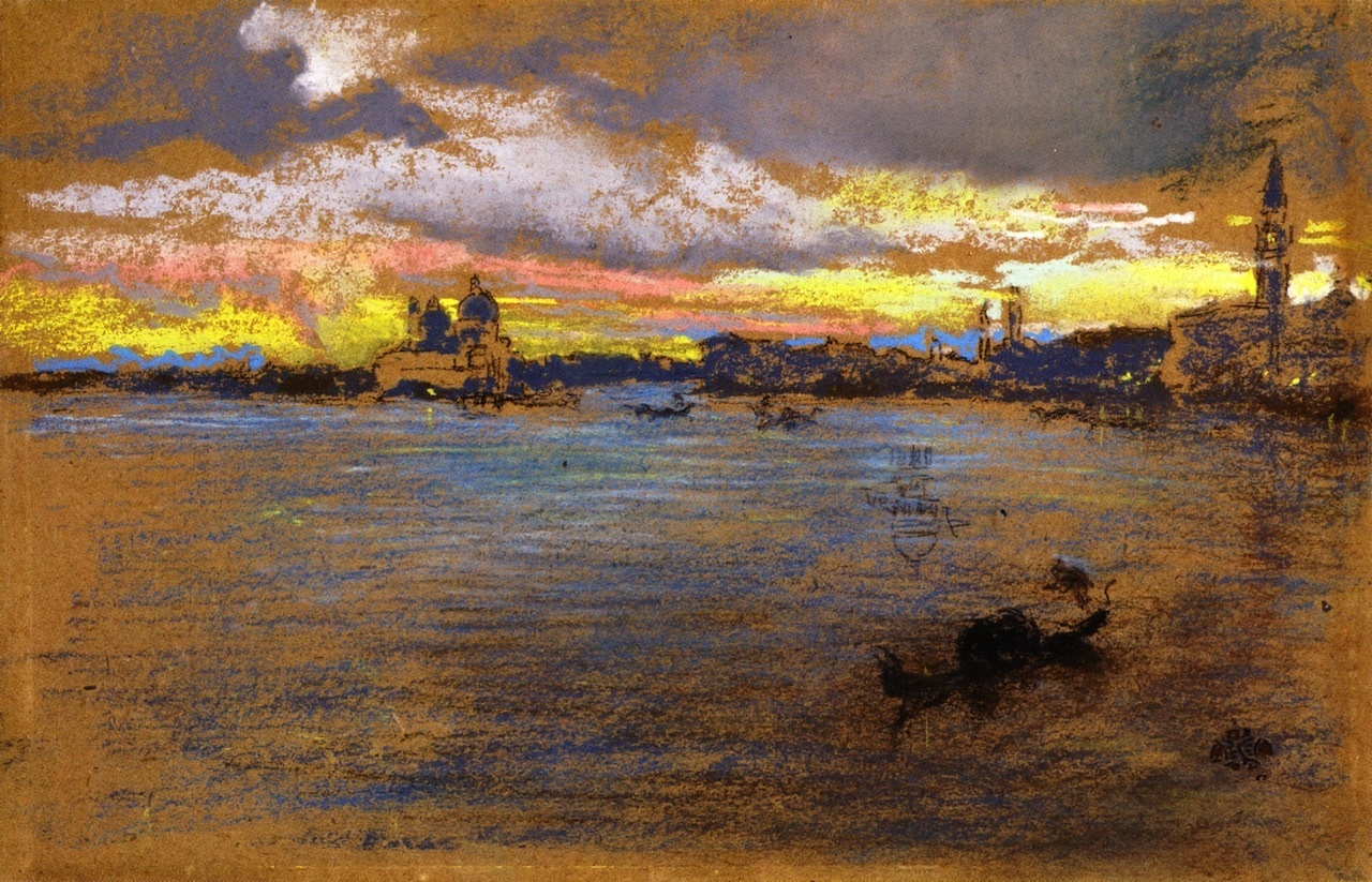 The Storm - Sunset 1880