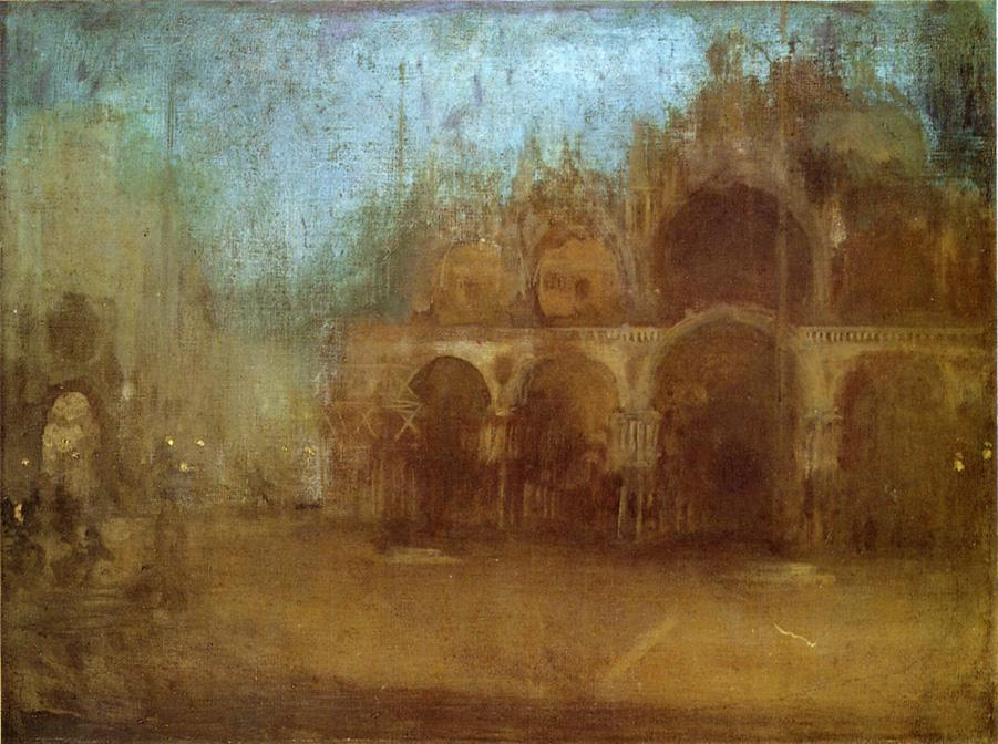 Nocturne. Blue and Gold - St Mark's, Venice 1880