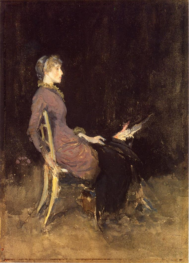 Study in Black and Gold. Madge O'Donoghue 1884