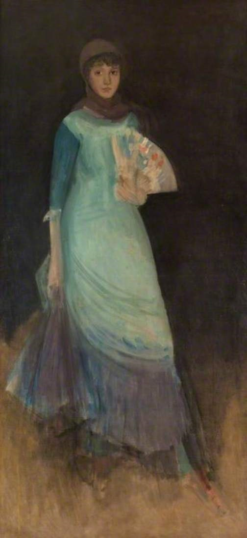 Harmony in Blue and Violet, Miss Finch 1885