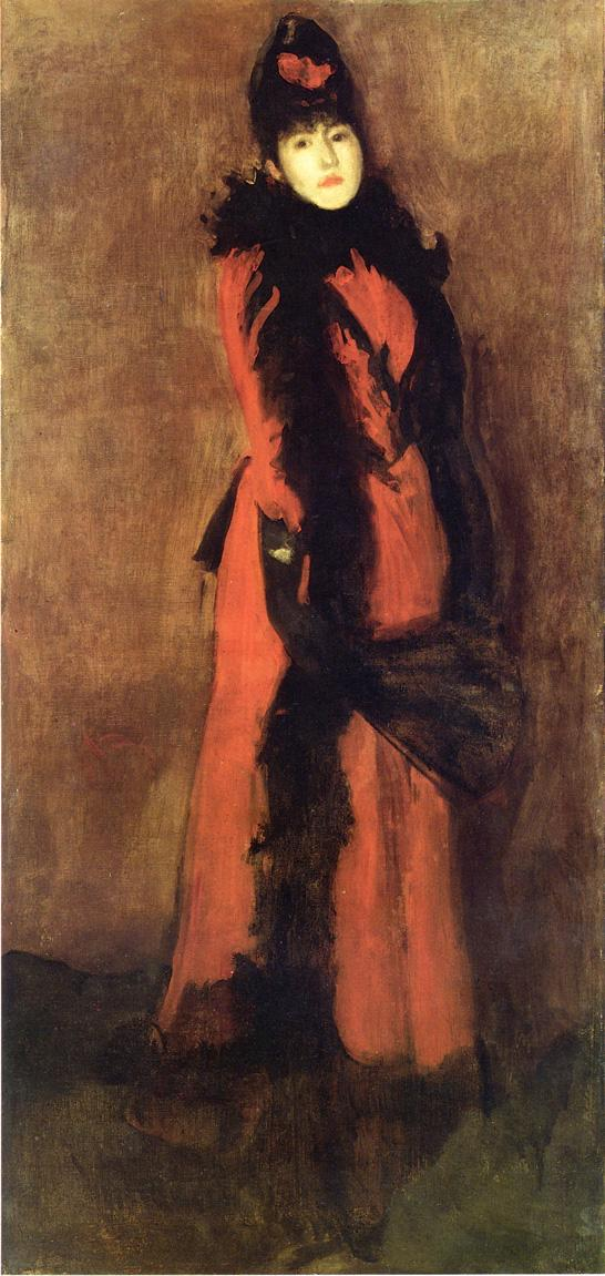 Red and Black. The Fan 1894
