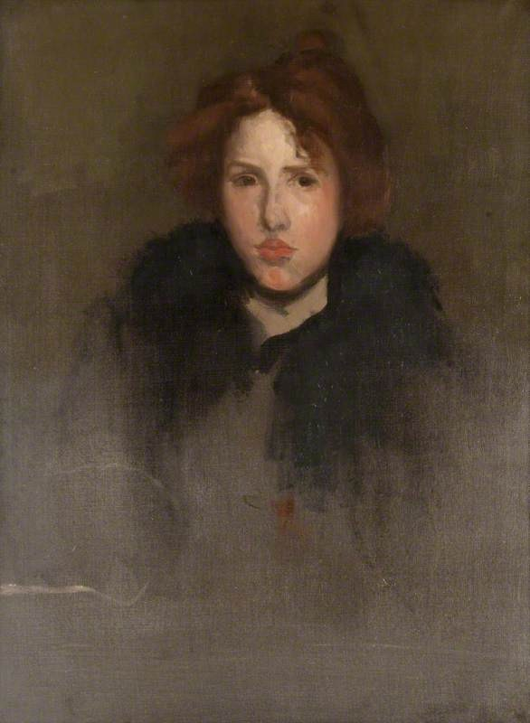 Unfinished Study of a French Girl 1896