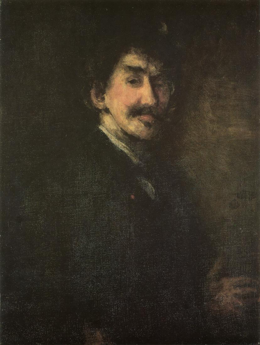 Gold and Brown: Self portrait 1896