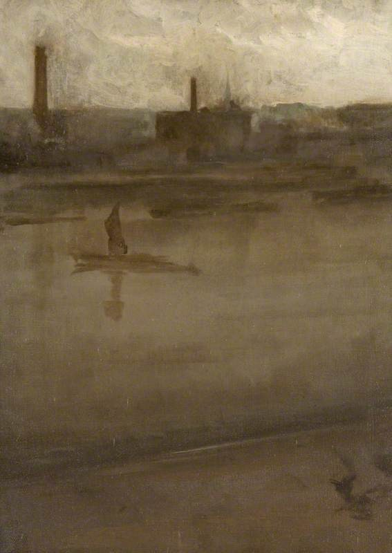 Grey and Silver The Thames 1896