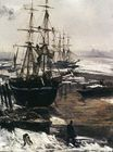 The Thames in Ice 1860