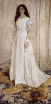 Symphony in White no.1. The White Girl Portrait of Joanna Hiffernan 1862