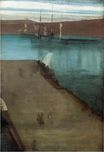 Sketch for Nocturne in Blue and Gold Valparaiso Bay 1866