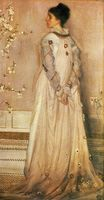Symphony in Flesh Colour and Pink. Portrait of Mrs Frances Leyland 1873