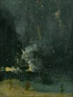 Nocturne in Black and Gold, the Falling Rocket 1875