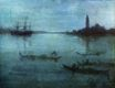 Nocturne in Blue and Silver, The Lagoon, Venice 1880