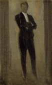 Portrait of a Man in Evening Dress 1885