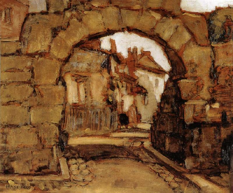 The Gate within the City Walls 1920