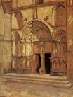 The Church doorway 1926