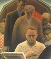 Grant Wood most famous paintings. Return From Bohemia 1935